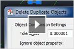 Eliminación de objetos duplicados